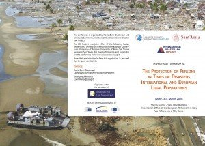 International Conference on Human Rights and Disasters