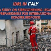 IDRL in Italy Report is Out